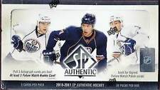 2010-11 (2011) Upper Deck SP Authentic Hockey Factory Sealed Hobby Box - 3 Autos