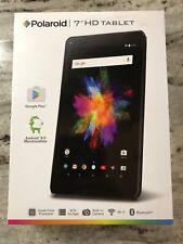 Polaroid 7 Tablet Quadcore 8GB Storage 1GB RAM Android 6.0 WiFi Bluetooth Black