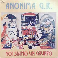 LP 33 Anonima G.R. – Noi Siamo Un Gruppo iTALY 1978
