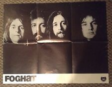 Foghat 70'S Rare 21x27 Poster
