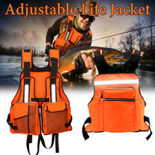 Adult Life Jacket Reflective Buoyancy Aid Sailing Fishing Kayak Vest  !
