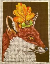 Melissa Shirley/Vicki Sawyer-Sophia the Fox-Handpainted Needlepoint Canvas #13
