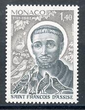 STAMP / TIMBRE MONACO N° 1332 ** SAINT FRANCOIS D'ASSISE