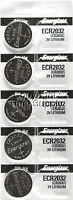 5 pcs 2032 Energizer Watch Batteries CR2032 CR2032 Original Lithium Battery 0%HG