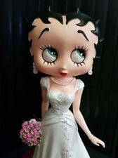 Extremely Rare! Betty Boop Getting Married Figurine Statue