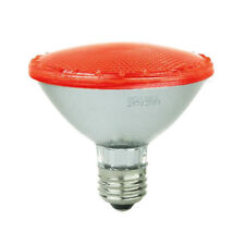 SUNLITE 5w PAR30 92LED Non-Dimmable E26 Medium Base Red Bulb