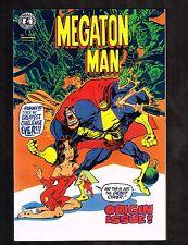 Megatonman #1 x2 ~ origin issue ~ 1984 (9.2OB) WH