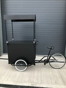 Tricycle, Mobile Bar, POP UP BAR, Coffee Bar, Ice Cream Cart, Ice Cream Bike
