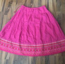 Beautiful Comfy Gudrun Sjöden Skirt Size L Gorgeous Color Linen/Cotton