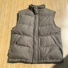 Eddie Bauer EB550 Fill Premium Goose Down Puffer Vest Men's L Western