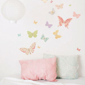 25x Butterfly Wall Stickers Beautiful Art Decal Girls Room Nursery Modern Decor