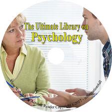 131 Books on DVD, Ultimate Library on Psychology, Study Behavior Psychological