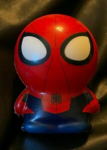 "Marvel Super Hero AMAZING SPIDER-MAN Mini 3"" Squishy Toy Figurine - BRAND NEW!"