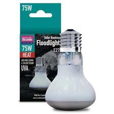 Arcadia Solar Basking Floodlight Reptile Flood Light UVA Bulb Lighting E27 Lamps