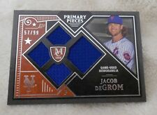 Jacob deGrom 2016 Topps Museum Quad JERSEY 57/99 Mets