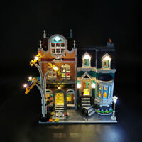 ONLY LED Light Lighting Kit For LEGO 10270 Bookshop Building Block Bricks