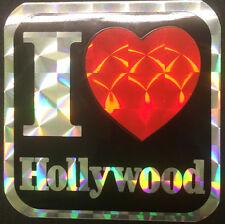 I Love Hollywood Sticker (New)