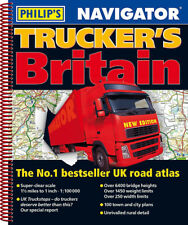 Philips Britain Navigator Trucker's Road Atlas Spiral 2019