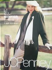 VINTAGE 1993 JC PENNEY FALL WINTER CATALOG FASHION WEDDING GOWNS CLOTHES