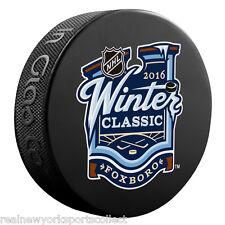 2016 NHL WINTER CLASSIC BOSTON BRUINS VS MONTREAL CANADIENS SOUVENIR PUCK 1/1