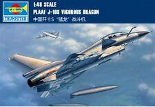 Trumpeter 02842 1/48 PLAAF J-10S Vigorous Dragon model kit