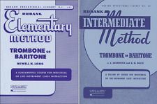 Rubank Elementary Method and Rubank Intermediate Method - Trombone, 2 Book Set,