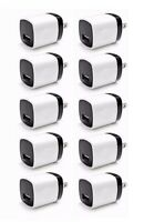 10x 1A USB Wall Charger Plug AC Home Power Adapter For Phone 5 6 Samsung Android