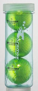 Chromax Metallic Coloured M1x Golf Balls 3 Ball Tube - Can be Personalised