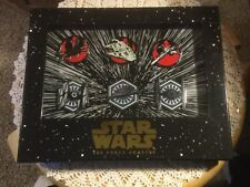 DISNEY PARKS EXCLUSIVE STAR WARS THE FORCE AWAKENS L.E. BOX PIN SET NEW (6 PINS)