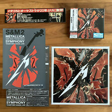 JAPAN 24 x 24 cm MEGAJACKET+2 SHM-CD+BANNER+FLYERS! METALLICA SYMPHONY S&M2 2020