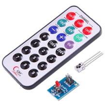 Telecomando Controllo Remoto IR 38 Khz + Ricevitore HX1838 + Cavi per Arduino