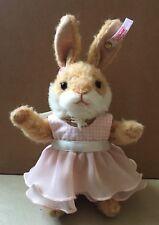 "2013 Steiff 034589 Valerie Rabbit Blond Limited Edition 8"" Plush"