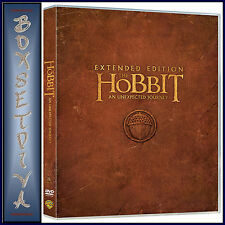THE HOBBIT - AN UNEXPECTED JOURNEY - EXTENDED EDITION **BRAND NEW DVD  **