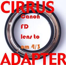 fd 4/3 adapter canon FD lens Olympus E-3 E-520 E-420