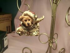 "Boyds Bears, Edmund with ""Believe"" Banner Ornament #2505"
