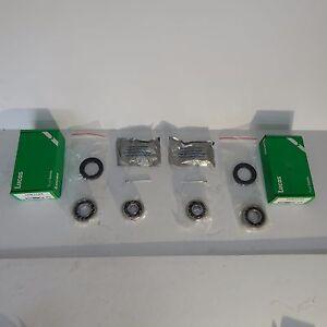 Pair of New Front Axle Wheel Bearing Kits w Seals MG Midget 1962-79 Lucas Brand