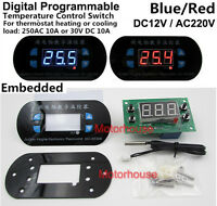 Digital Programmable Temperature Controller Switch Module Temperatur-Schalter