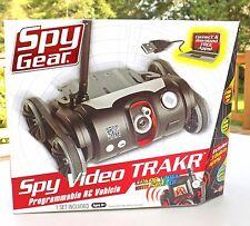 Spy Gear TRAKR programmable RC robot with rare programing paperwork