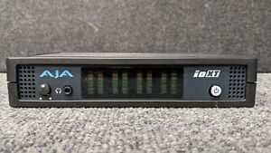 AJA ioXT Capture & Playback Device With Power Supply. Tested & functional.