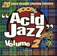 Acid Jazz-100% (1995) 2:Brand New Heavies, Jamiroquai, Young Disciples, S.. [CD]