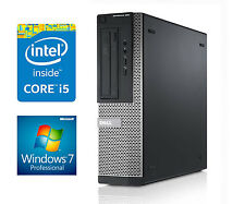 FAST WINDOWS 7 Dell Desktop SFF PC 2nd Gen Core i5 2GB DDR3 RAM 250GB HDMI CHEAP