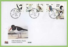 Birds First Day Cover Icelandic Stamps