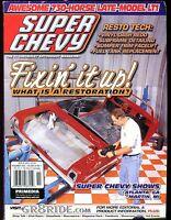 Super Chevy Magazine November 2000 Restoration EX No ML 030217nonjhe