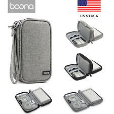 Baona Power Bank Storage Bag Travel Digital Gadget Organizer Electronic Case US