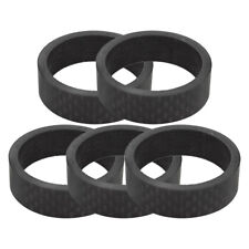 "CARBON FIBER BIKE BICYCLE 1 1/8"" HEADSET SPACERS NEW"