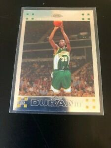 2007-08 Topps Chrome KEVIN DURANT Rookie RC CENTERED #131