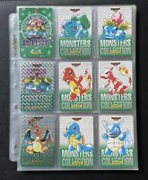 Pokemon Pocket Monsters Carddass Complete Set 1996 Green Charizard Prism LP (P)
