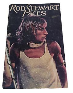 ROD STEWART & THE FACES 1975 ATLANTIC CROSSING U.S. TOUR CONCERT PROGRAM BOOK