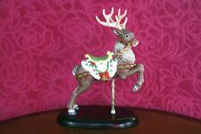 Retired Lenox 1989 Christmas Deer Carousel Porcelain Figurine 24k Gold Collectib
