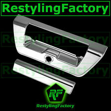 2015-2016 FORD F150 TRUCK Chrome Tailgate Door Handle Cover+Camera Hole 15-16